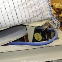 Industrial vibrators- NCT Unloading big bags