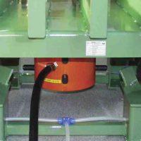 Vibrador lineal de no impacto MARTIN<SUP>®</SUP> NTS™ en mesa de compactacion