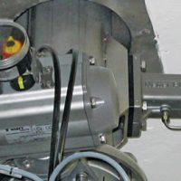 Vibradores de Impacto de intervalo 740 encima de la valvula de rotación.