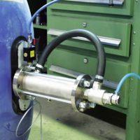 El Vibrador MARTIN<SUP>®</SUP> VAC-MOUNT™ es ideal para solucionar problemas de flujos de materiales.