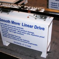 Smooth Move Linear Drive Feeder For Food Prep Industry
